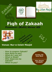 Zakaah Workshop