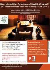 Usul Hadith Poster 2